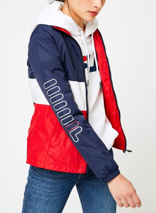 Vêtements FILA BRENDA Shell Jacket Multicolore vue droite