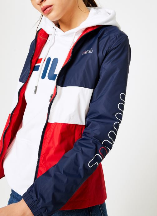 Vêtements FILA BRENDA Shell Jacket Multicolore vue détail/paire