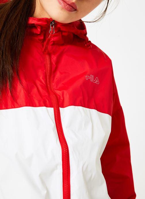 Vêtements FILA RAY Wind Breaker Blanc vue face