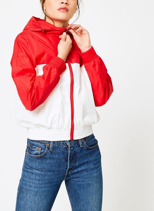 Vêtements FILA RAY Wind Breaker Blanc vue détail/paire