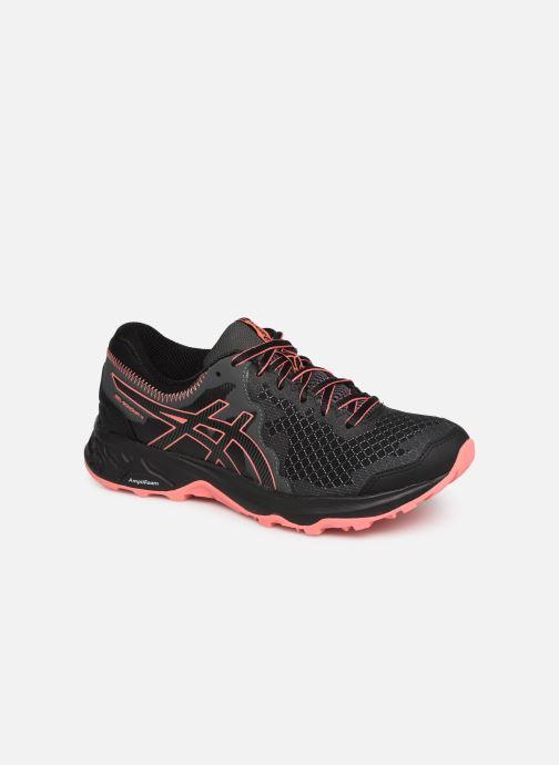Sportssko Asics Gel-Sonoma 4 Sort detaljeret billede af skoene