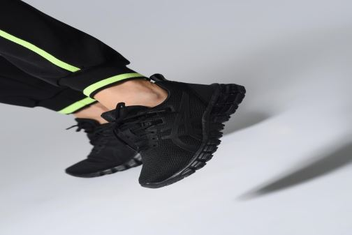Scarpe sportive Asics Gel-Quantum 90 W Nero immagine dal basso