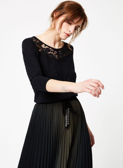 Vêtements IKKS Women Tsh M3 Noir vue droite