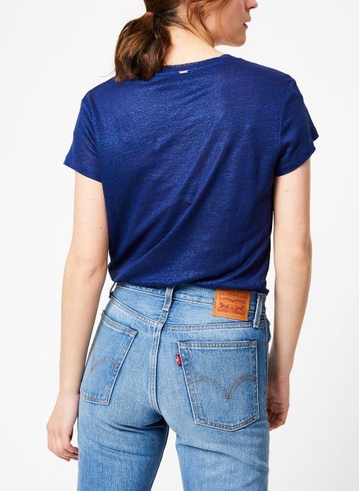 VêtementsT Mc shirts Ikks Débardeurs Lin Bleu Et Gitane Women Tsh WE29YIDH