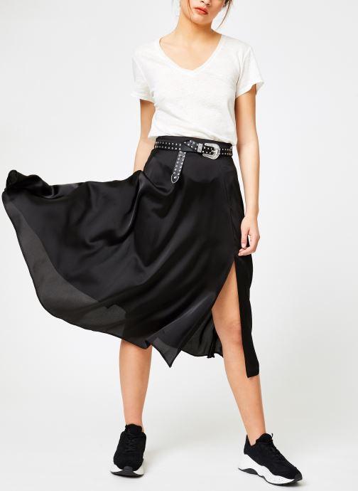 Vêtements IKKS Women Tsh Mc Lin Blanc vue bas / vue portée sac