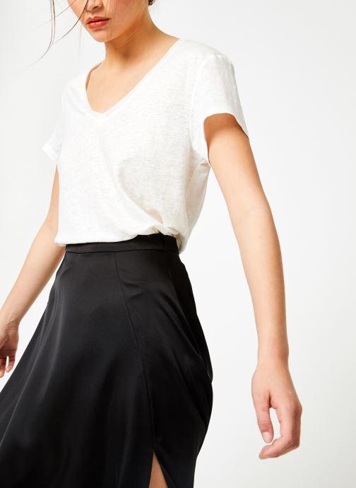 Vêtements IKKS Women Tsh Mc Lin Blanc vue droite