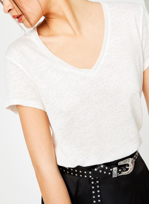 Vêtements IKKS Women Tsh Mc Lin Blanc vue détail/paire