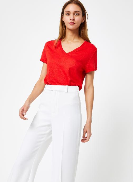 Vêtements IKKS Women 1 Tsh Mc Rouge vue droite
