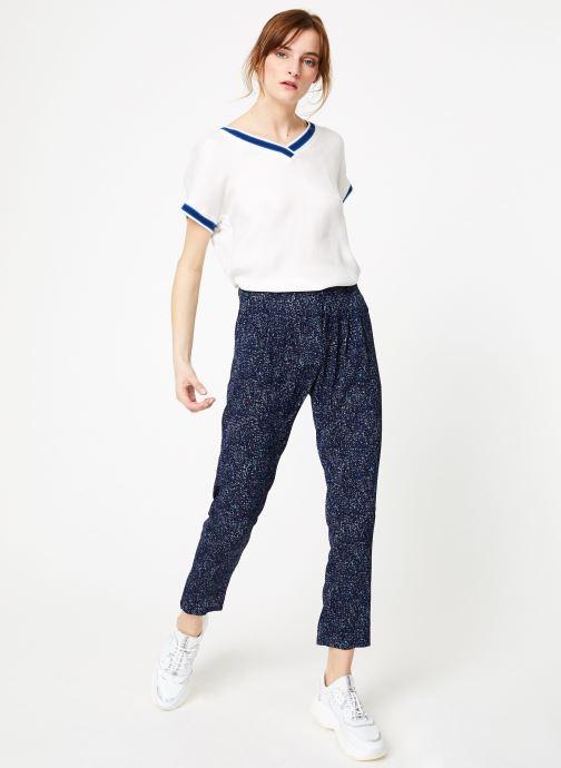 Vêtements IKKS Women Top Mc Blanc vue bas / vue portée sac