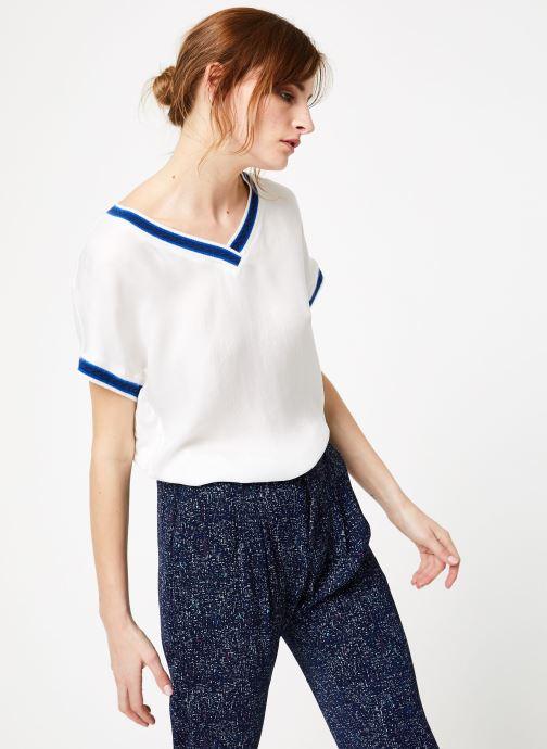 Vêtements IKKS Women Top Mc Blanc vue droite