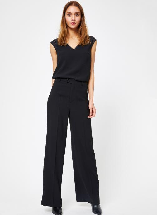 Vêtements IKKS Women 1 Top Noir vue bas / vue portée sac