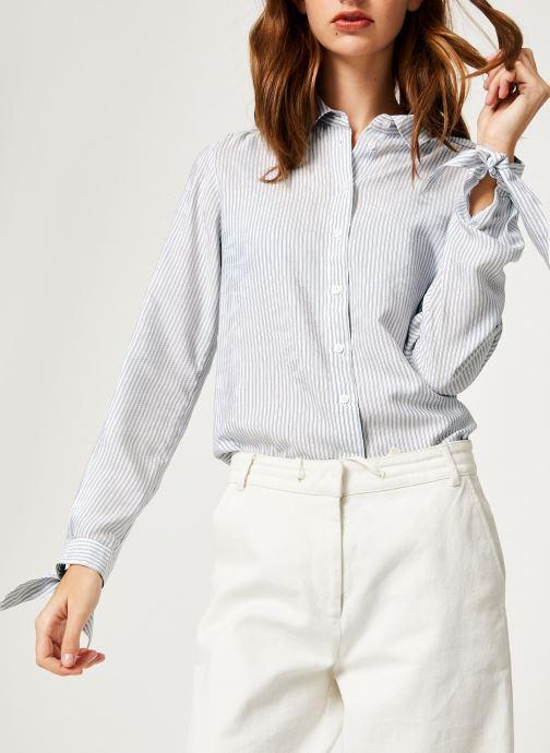 Vêtements IKKS Women Che Ml Ray Violet vue détail/paire