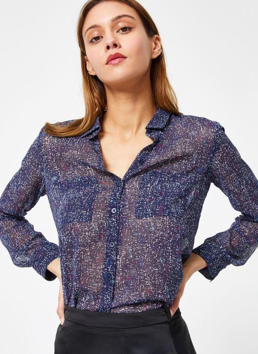 Vêtements IKKS Women Che Ml Bleu vue détail/paire