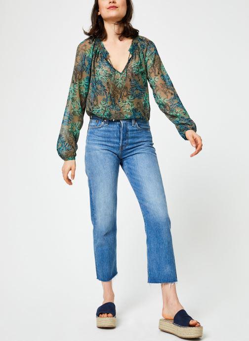 Vêtements IKKS Women Blo Ml Vert vue bas / vue portée sac