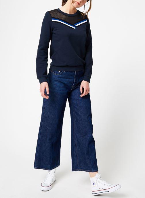 Vêtements IKKS Women Swe Ml Bleu vue bas / vue portée sac