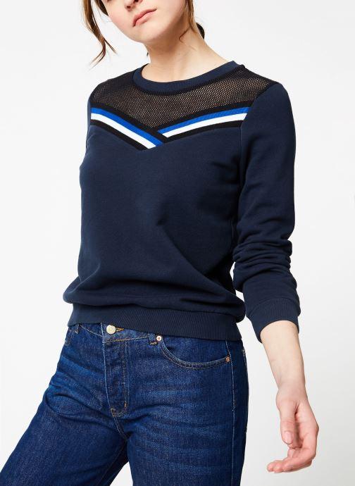 Vêtements IKKS Women Swe Ml Bleu vue détail/paire