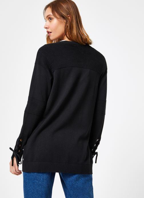 Women Long Noir Gilets 1 Ml Ikks VêtementsPulls Et Car N0OknX8wP
