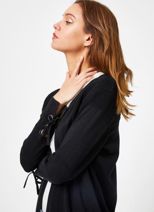 Vêtements IKKS Women 1 Car Ml Long Noir vue détail/paire