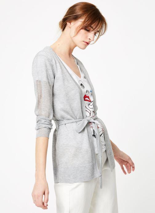 Vêtements IKKS Women 1 Car Ml Gris vue détail/paire