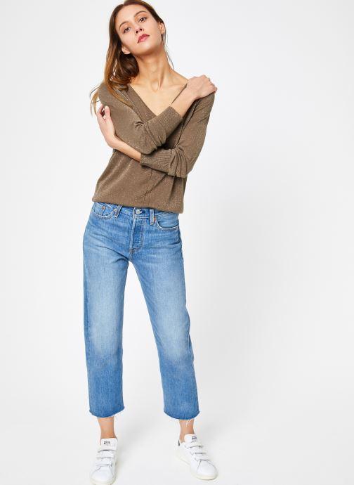 Vêtements IKKS Women Pul Ml Vert vue bas / vue portée sac