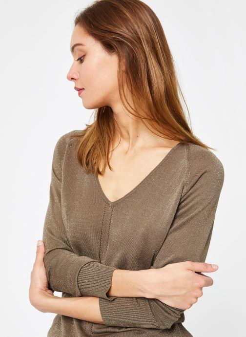Vêtements IKKS Women Pul Ml Vert vue détail/paire