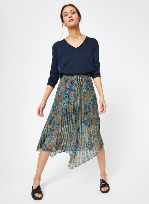 Vêtements IKKS Women 1 Pul Ml Bleu vue bas / vue portée sac