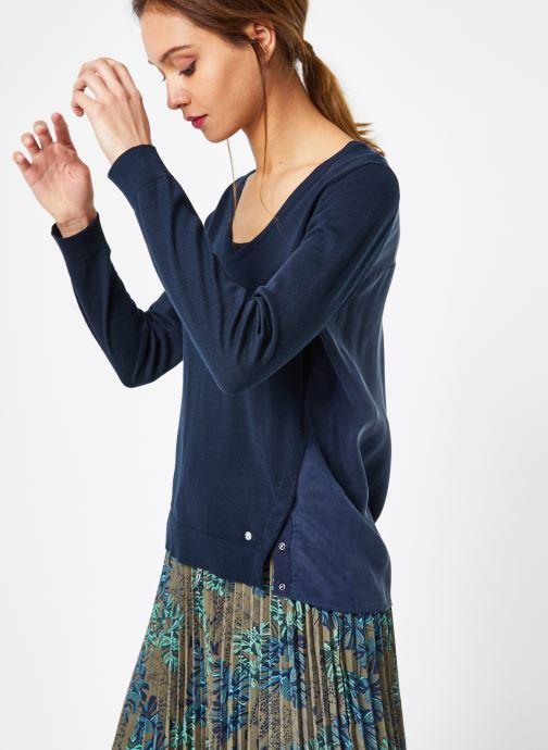 Vêtements IKKS Women 1 Pul Ml Bleu vue droite