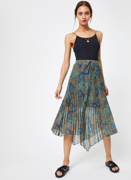 Vêtements IKKS Women Jup Vert vue bas / vue portée sac