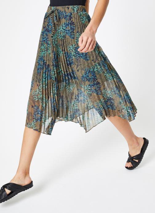 Vêtements IKKS Women Jup Vert vue détail/paire