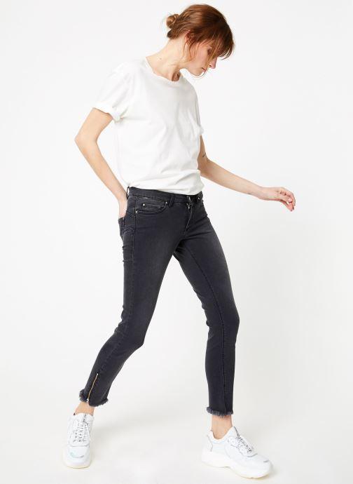 Vêtements IKKS Women Den Slim Scu Up Gris vue bas / vue portée sac