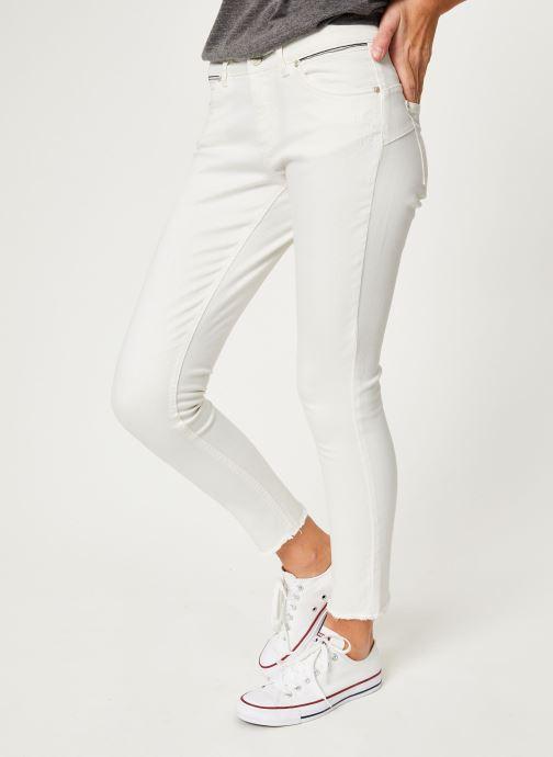 Vêtements IKKS Women Den Slim Scu Up Blanc vue détail/paire