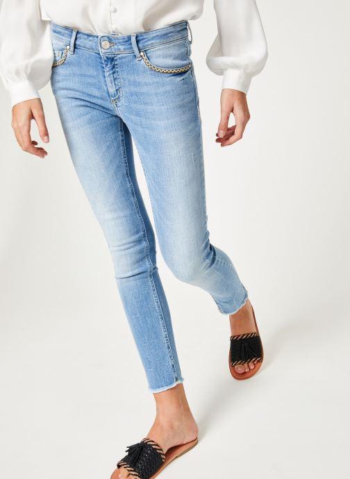 Vêtements IKKS Women Den Slim Scu Up Bleu vue détail/paire