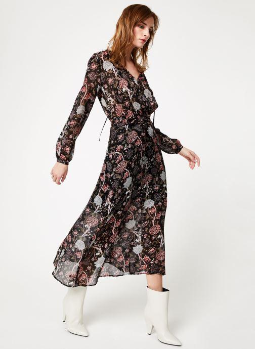 Vêtements IKKS Women Rob Ml Pivoine Noir vue bas / vue portée sac