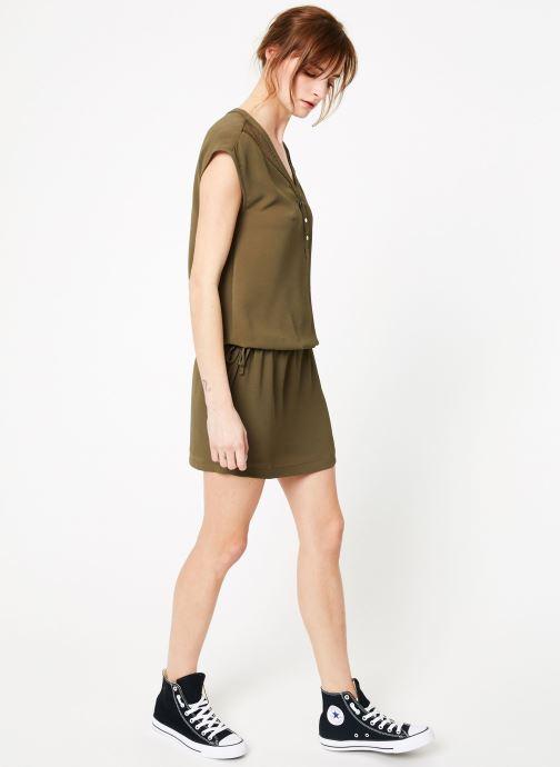 Vêtements IKKS Women 1 Rob Mc Polycr Vert vue bas / vue portée sac