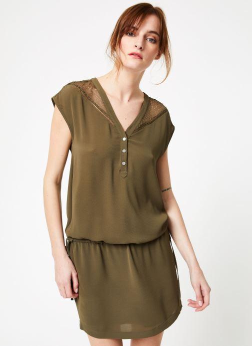 Vêtements IKKS Women 1 Rob Mc Polycr Vert vue droite