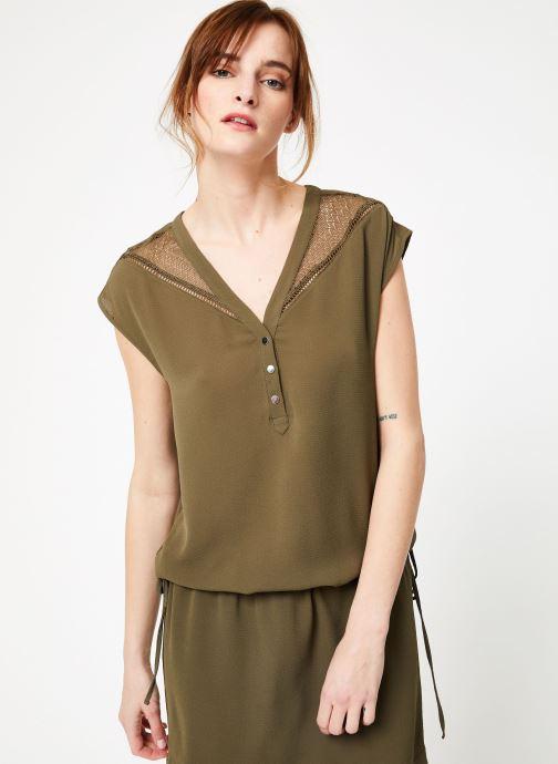 Vêtements IKKS Women 1 Rob Mc Polycr Vert vue détail/paire