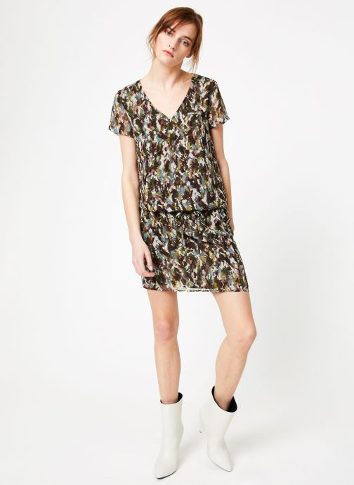 Vêtements IKKS Women Rob Mc Camoufla Vert vue bas / vue portée sac
