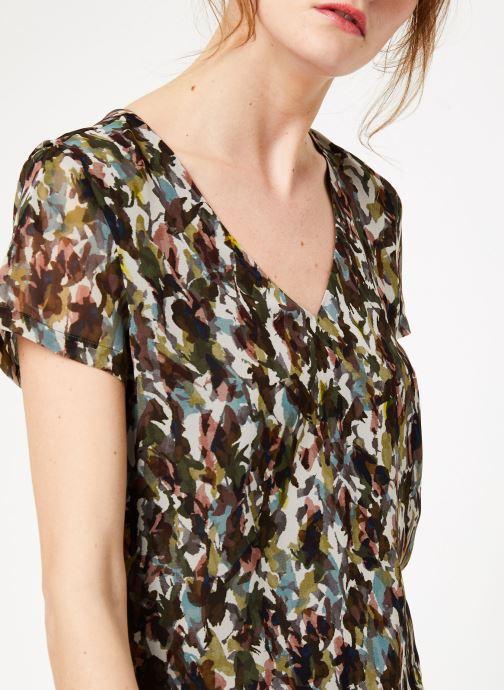 Vêtements IKKS Women Rob Mc Camoufla Vert vue face