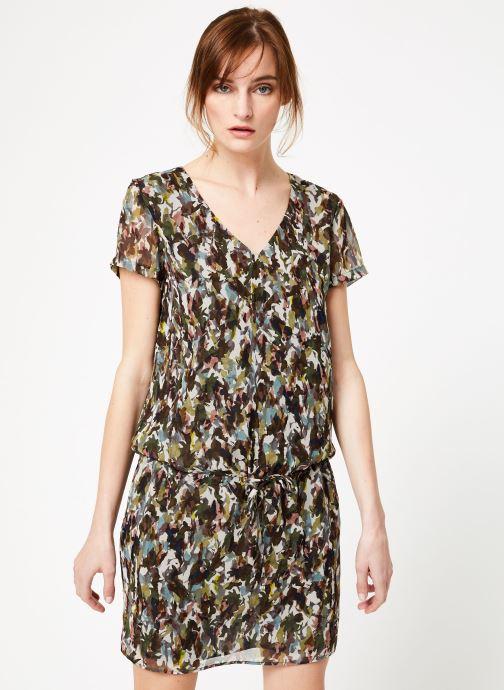 Vêtements IKKS Women Rob Mc Camoufla Vert vue droite