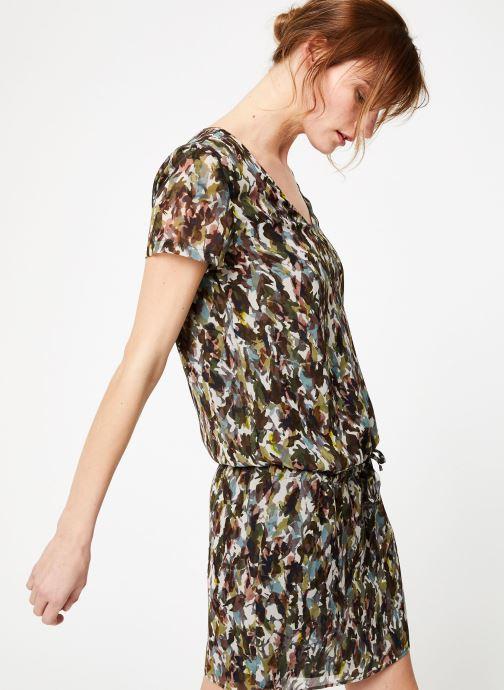 Vêtements IKKS Women Rob Mc Camoufla Vert vue détail/paire