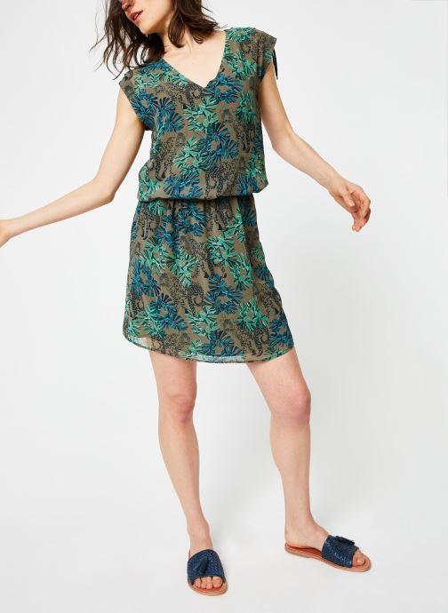 Vêtements IKKS Women Rob Vert vue détail/paire
