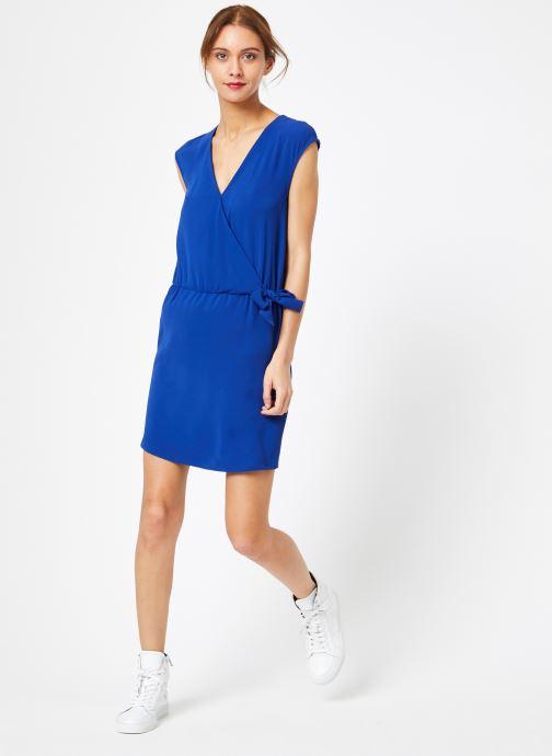 Vêtements IKKS Women Rob Mc Bleu vue bas / vue portée sac