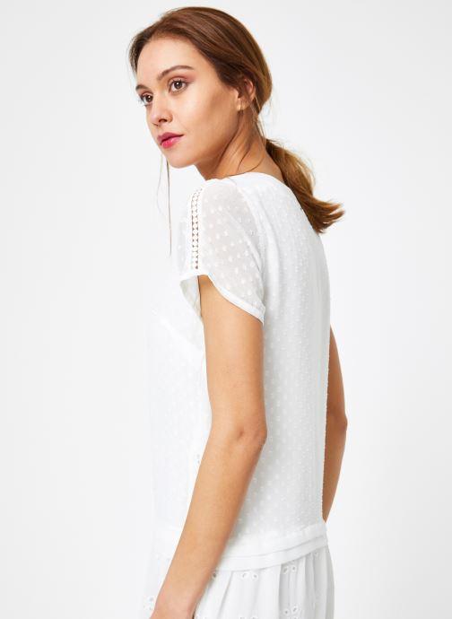 Vêtements IKKS Women Rob Mc Blanc vue face