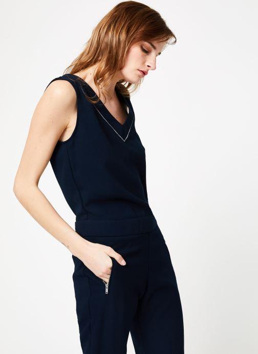 Vêtements IKKS Women 1 Cbl Sm Bleu vue droite