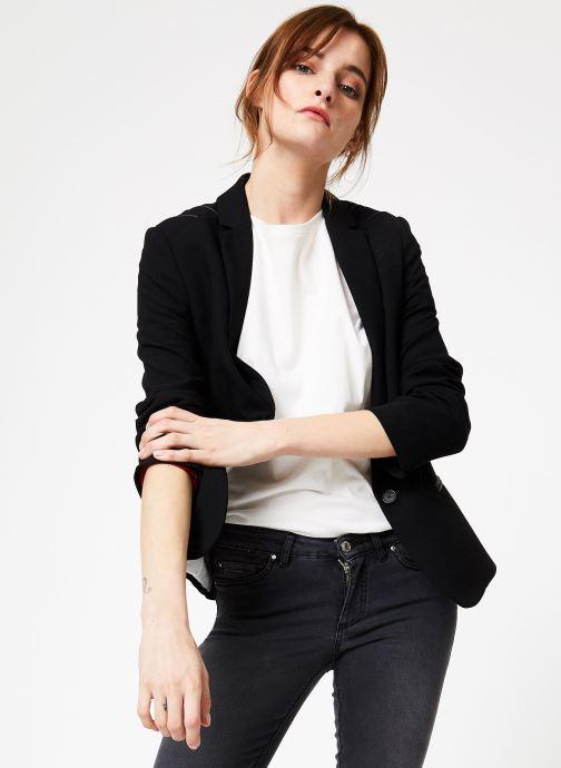 Vêtements IKKS Women Ves Crepe Epaul Noir vue détail/paire