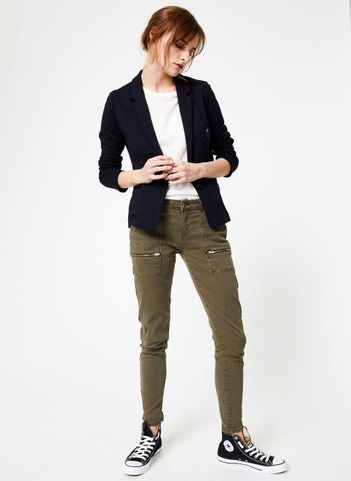Vêtements IKKS Women Ves Bleu vue bas / vue portée sac