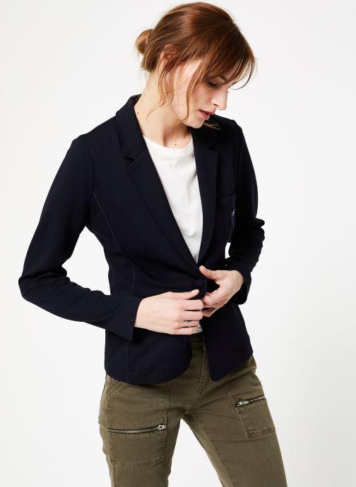Vêtements IKKS Women Ves Bleu vue droite
