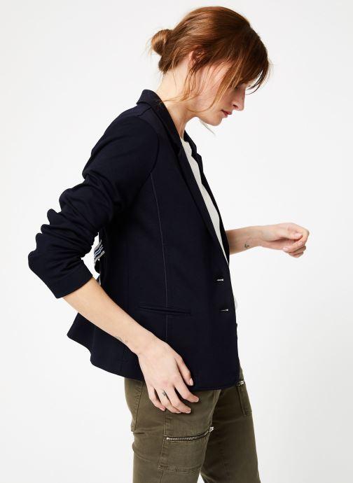 Vêtements IKKS Women Ves Bleu vue détail/paire