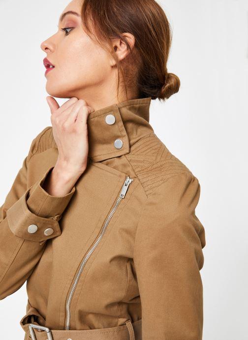 Vêtements IKKS Women Tre Ml Zip Marron vue détail/paire