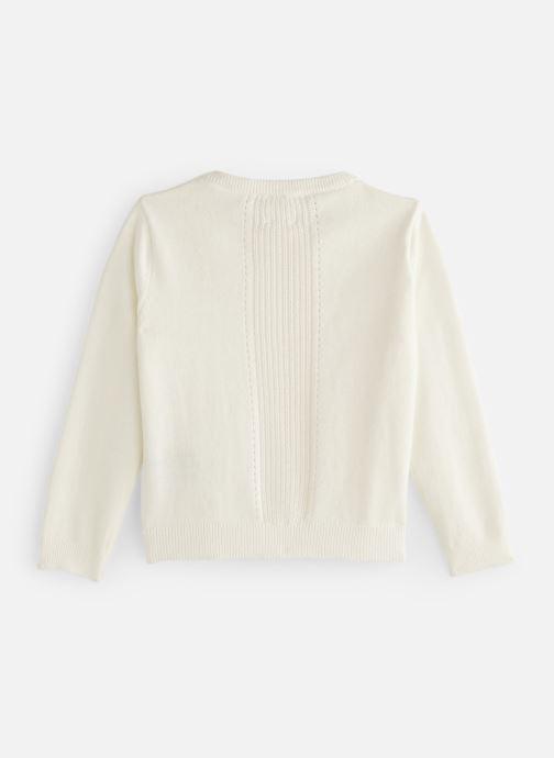 Vêtements CARREMENT BEAU Y15258 Blanc vue bas / vue portée sac